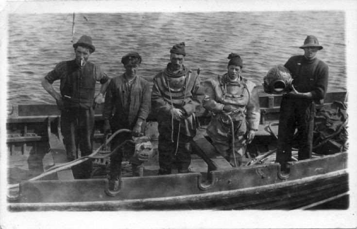Divers, Scapa Flow