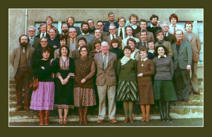 Stromness Academy staff 1983