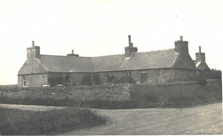 The farm at Lochend in the 1930s