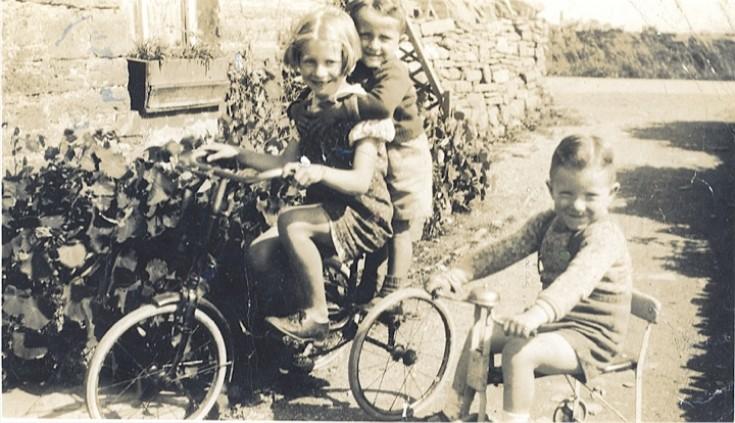 Sheila Stuart, Raymond Sinclair, and Adrian Stuart