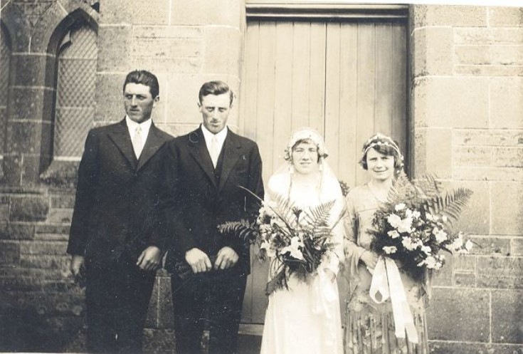 The wedding of Isabel Stuart and Jim 