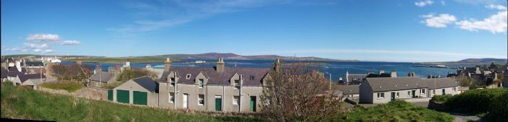 Panorama from Whitehouse of Stromness