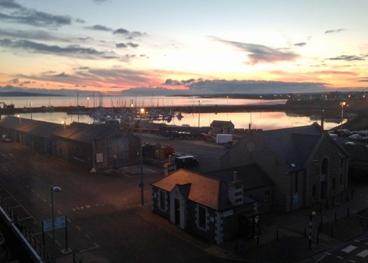 Kirkwall Harbour - Sunrise