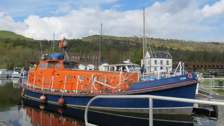 Ex Longhope lifeboat David and Elizabeth King