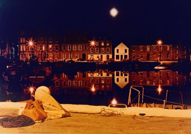 Full moon over Kirkwall basin