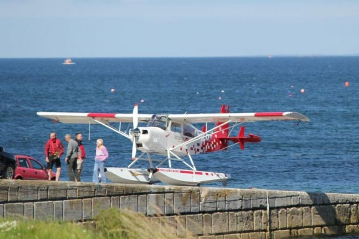 Seaplane on the Hatston slip