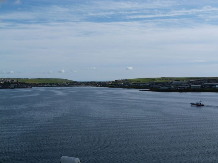 Kirkwall from Queen Elizabeth