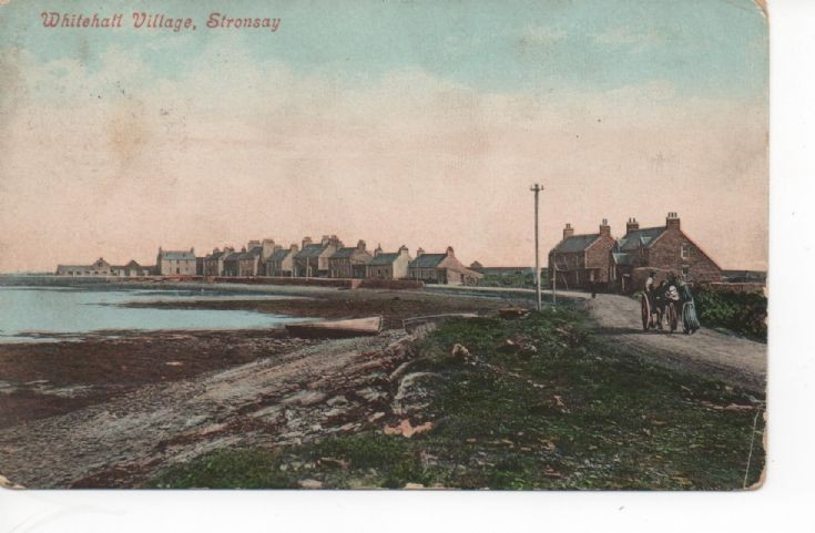Stronsay postcard dated 1907