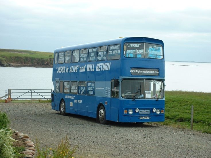 Brother Clifford's bus
