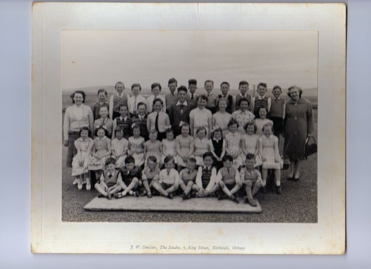 Sandwick South Primary School 1960