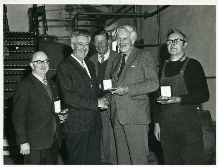 Highland Park Distillery Presentation 1974