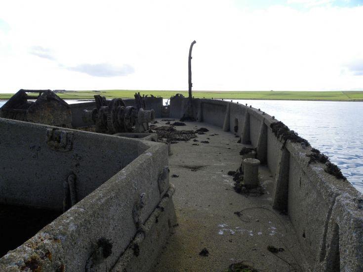 Concrete Barge - Stronsay Harbour