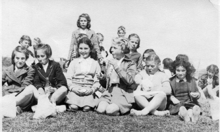 Stromness children about 1955