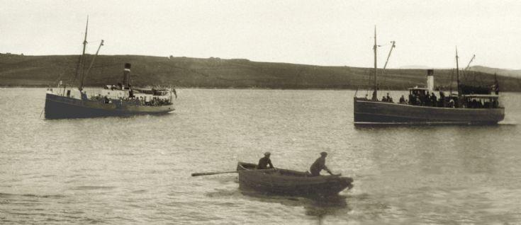 Hoy Head & Orcadia ca 1912?
