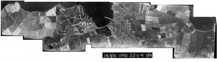Mosaic of RAF photos taken in 1941