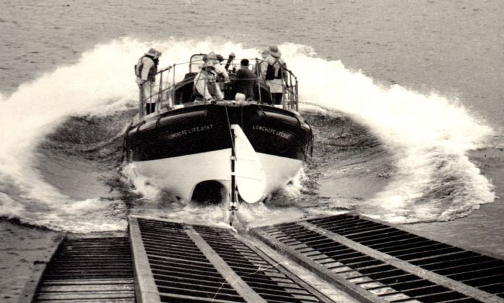 Launch of Longhope lifeboat