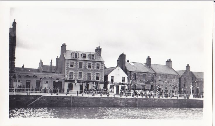 Harbour Street awaiting Royal visit