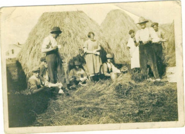 Harvest Home, Burness, Sanday 1925