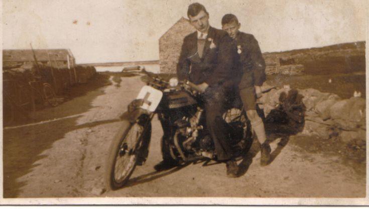Jim Dearness & Wm Tulloch of Upperhouse
