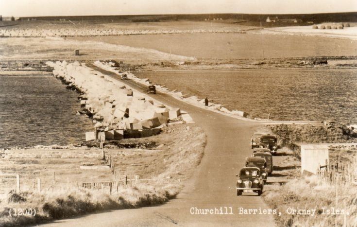 Churchill Barriers