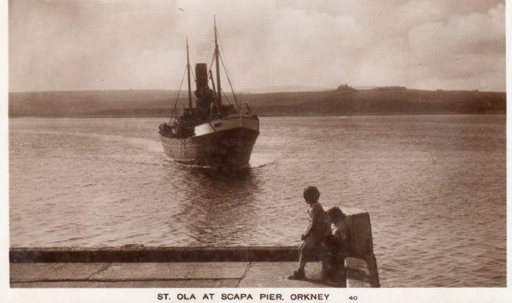 Sto Ola at Scapa Pier