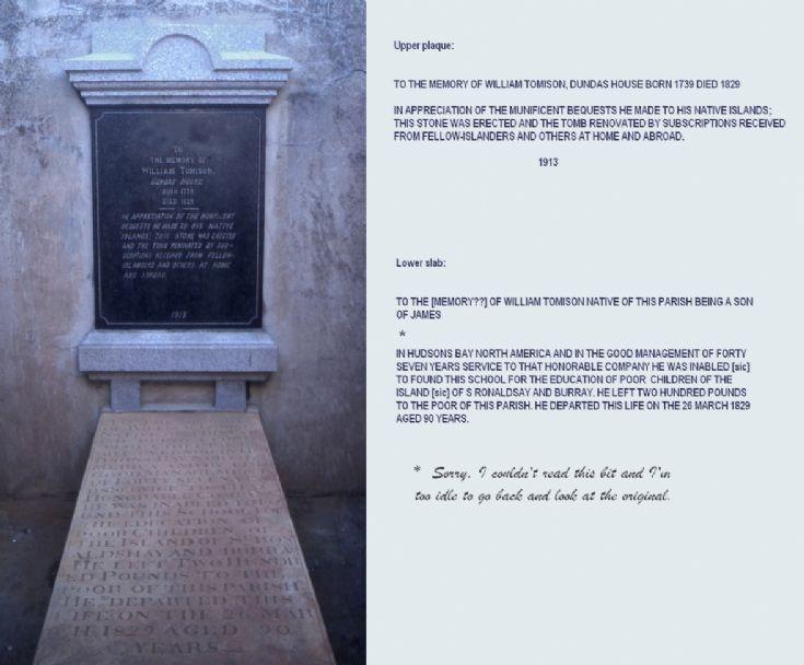 Inside Tomison's mausoleum