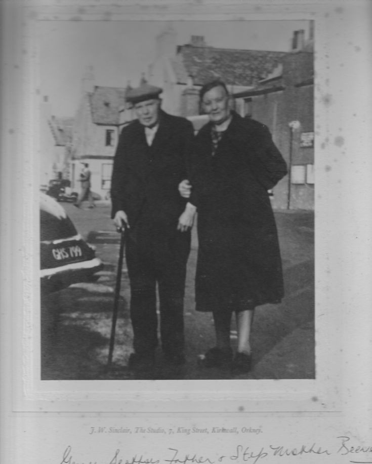 James Seatter and second wife Beenie