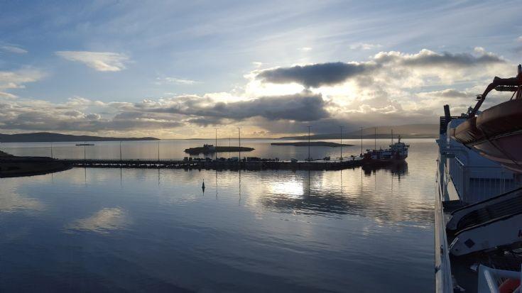 Coplands Dock from Hamnavoe