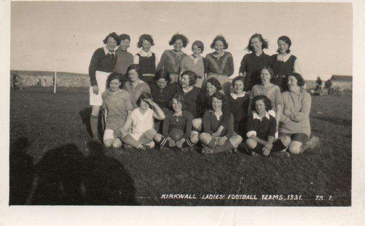 Kirkwall Ladies Football Team