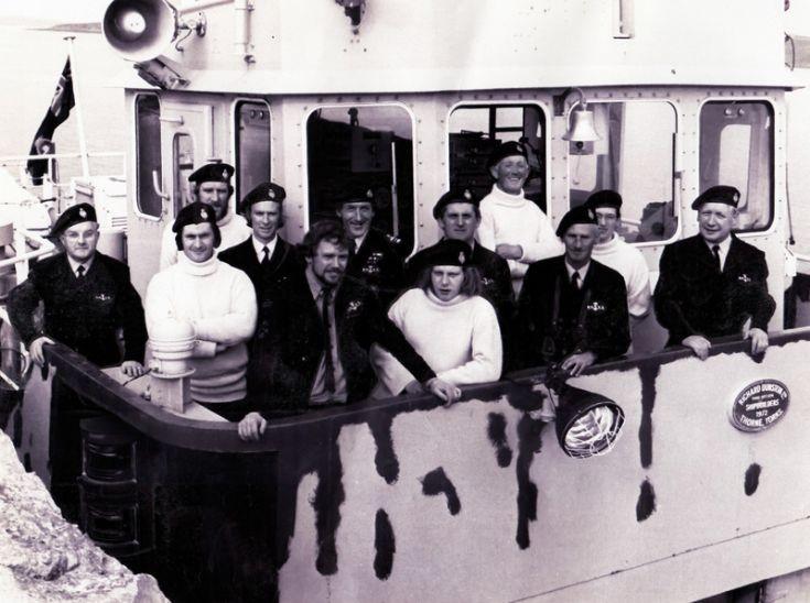 Royal Oak survivors ceremony 1974