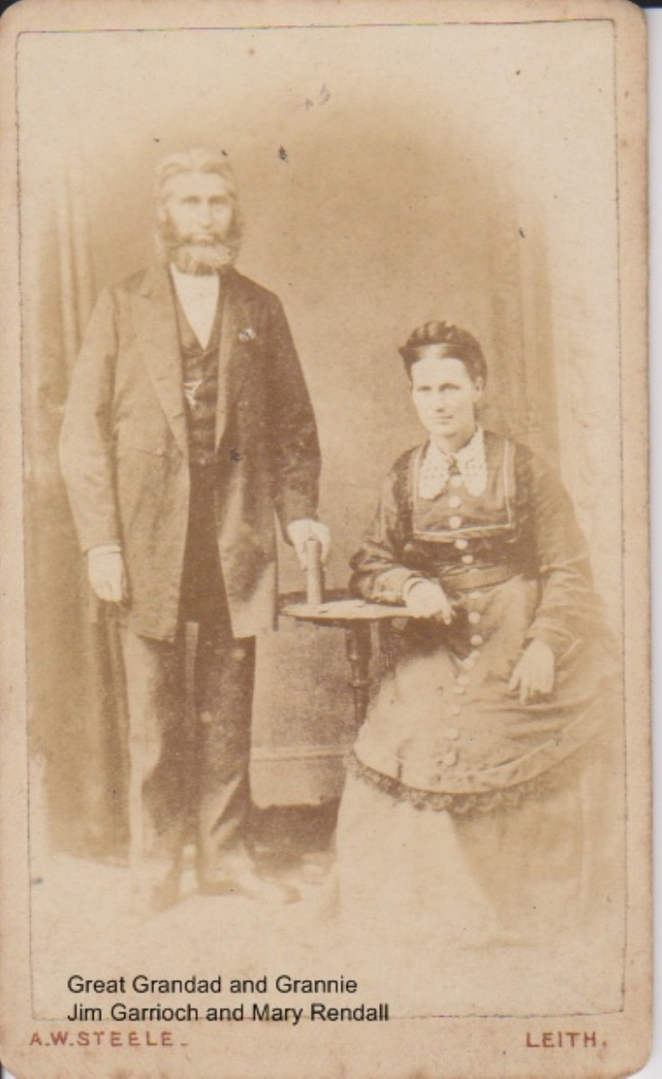 Jim Garrioch and Mary Rendall