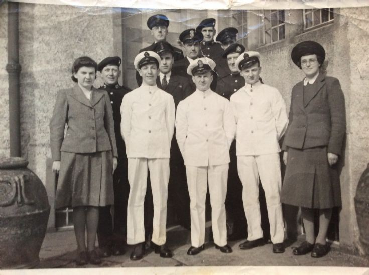 Staff of Melsetter House c. 1946