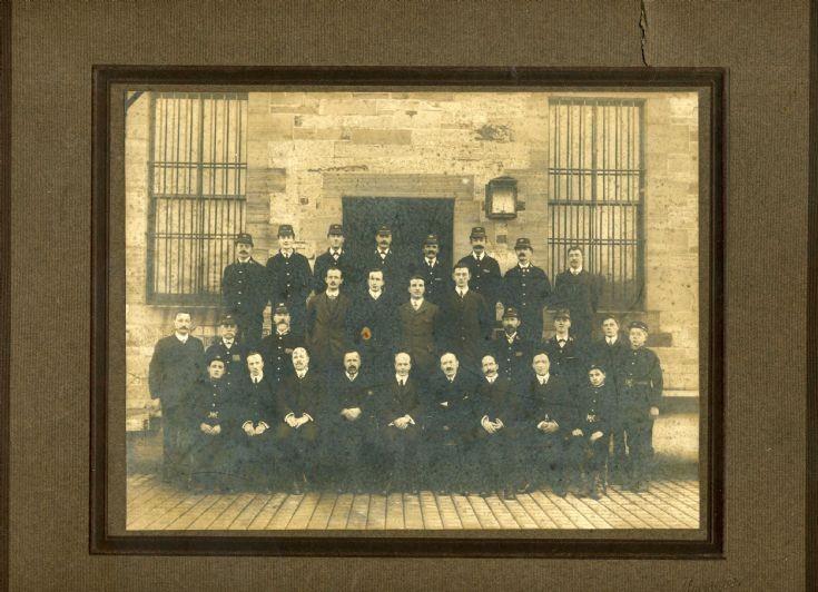 Staff of Kirkwall Post Office