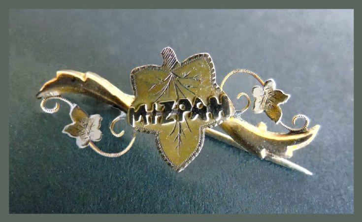 Mizpah brooch