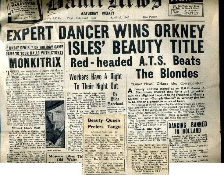 Dance News April 18 1942