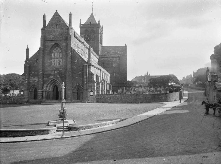 St Magnus Cathedral pre restoration