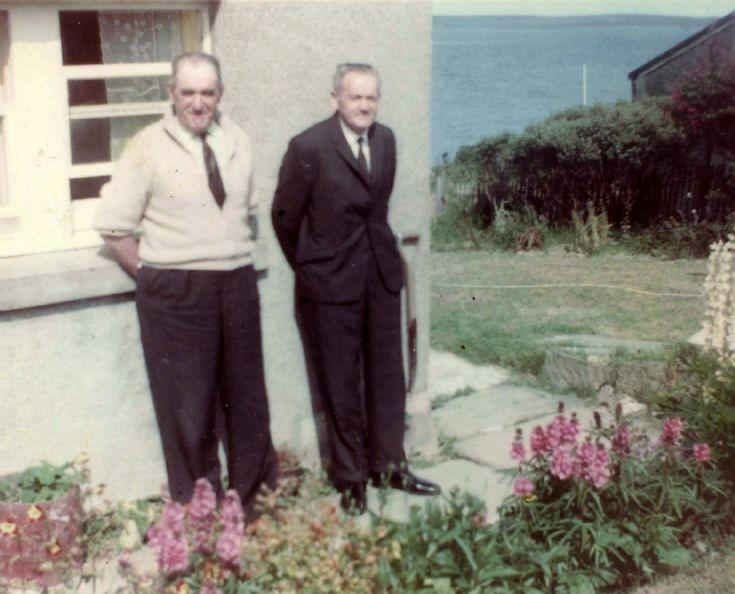Sammy and Hugh Johnston, Braeside