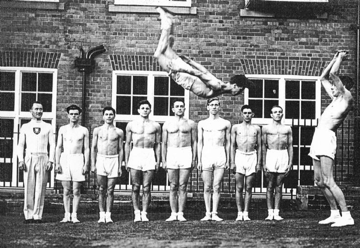 Mystery gymnastics team