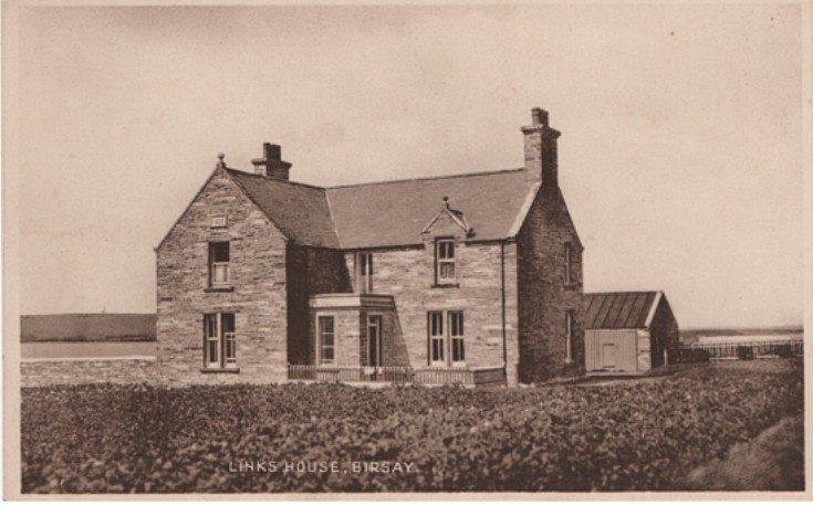 Links House Birsay, 1930s