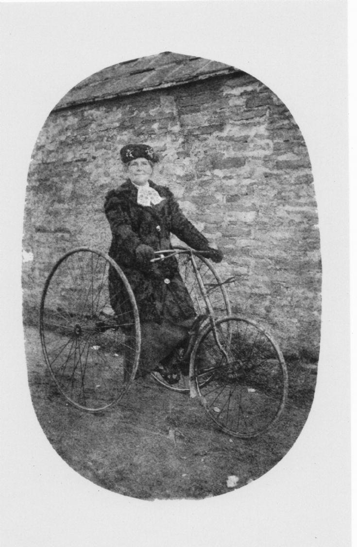 Mrs Stevenson, possibly Evie