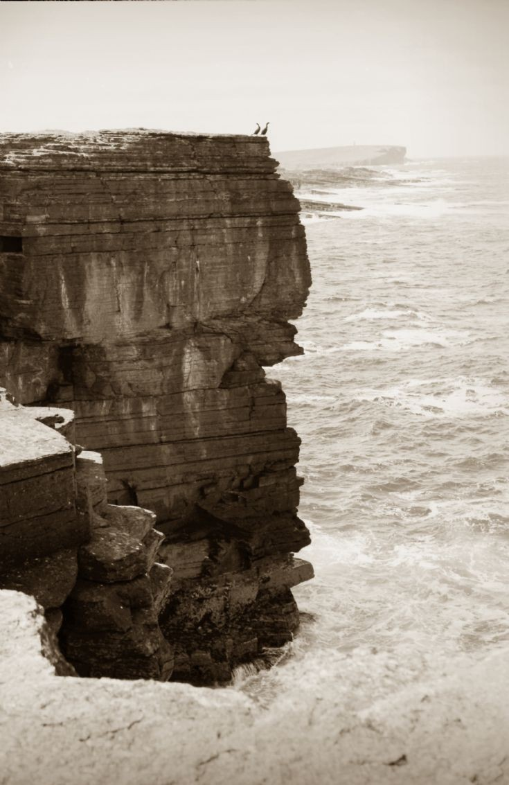 The Brough of Birsay from the Point of Wheetallo