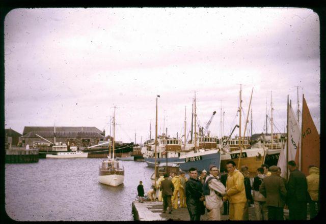 Throng at Corn Slip 1962