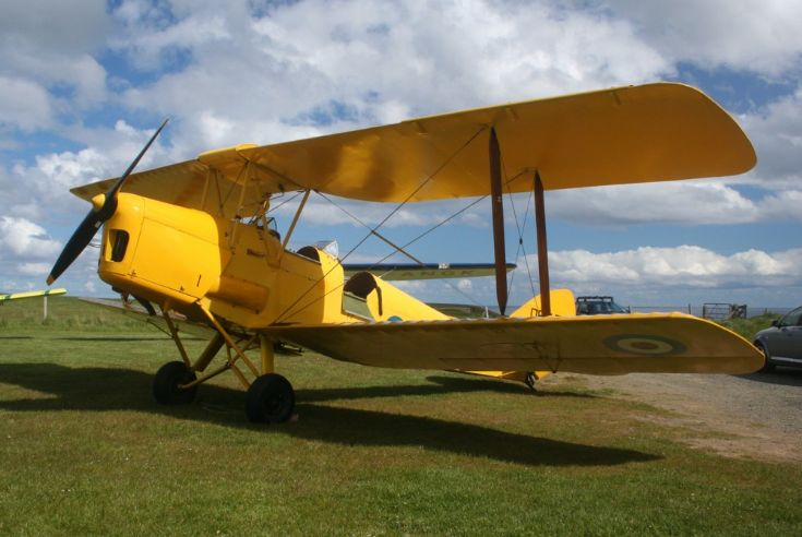 Tiger Moth, ex Orkney Flying Club