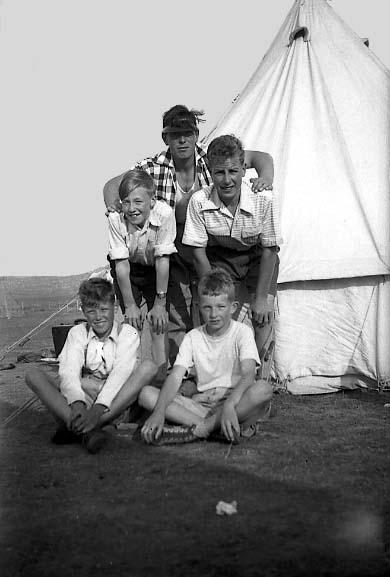 Carrbridge 14 Kirkwall B.B. camp  1955