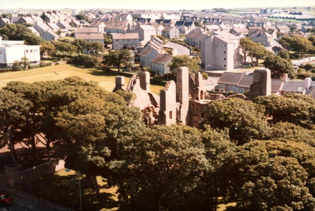 Brandyquoy park viewed from Cathedral
