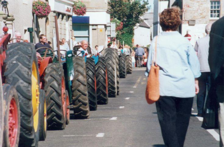 Tractors at Fayre