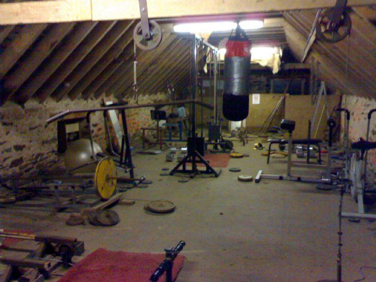 Papdale gym upstairs