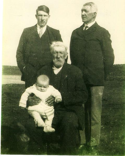 4 generations of Flett