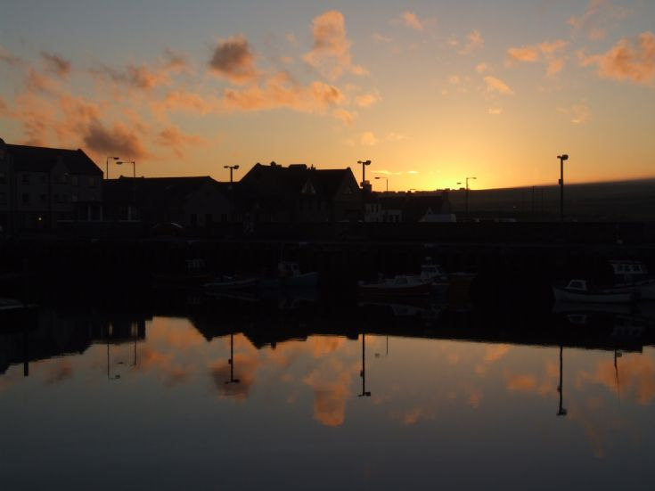 Sunset Kirkwall Harbour