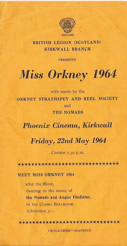 Miss Orkney Programme